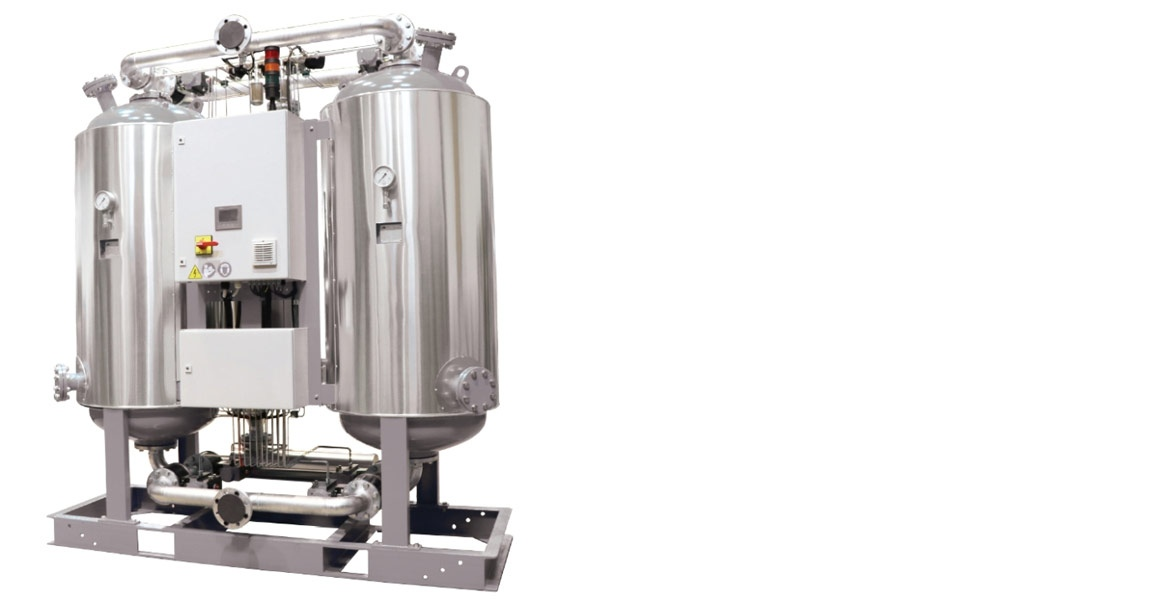Ambient air regenerated adsorption dryers r dry bva