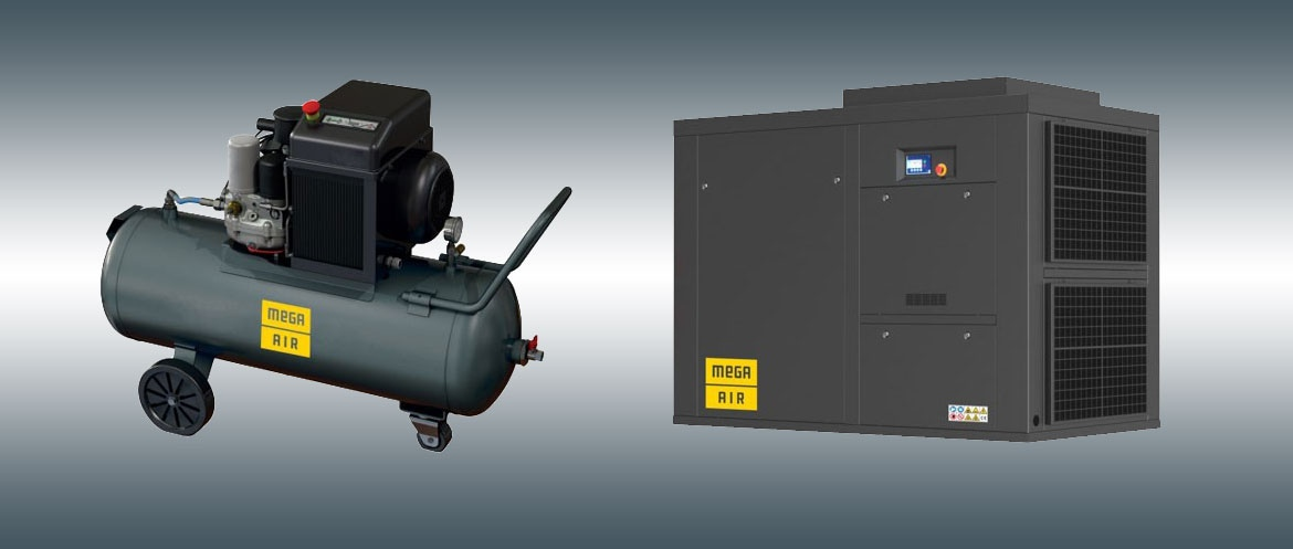 MEGA AIR screw compressors