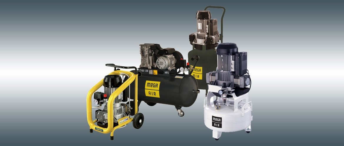 MEGA AIR piston compressors